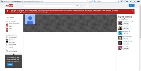 Youtube bi khoa
